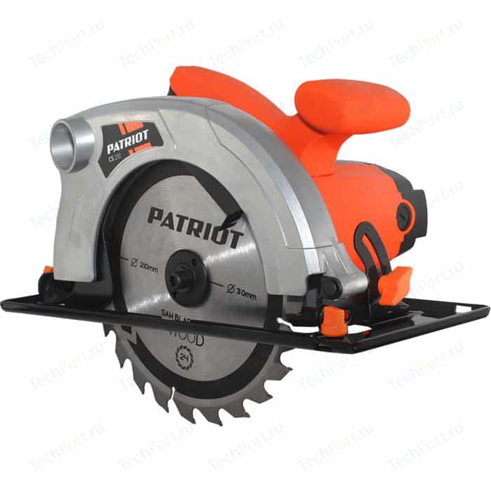 Пила дисковая PATRIOT CS 210 пила patriot cs 235 190301653