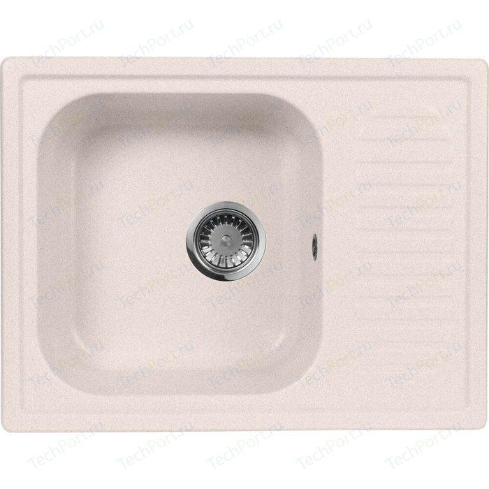 Кухонная мойка AquaGranitEx M-13 (311) светло-розовый