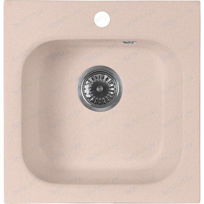 Кухонная мойка AquaGranitEx M-43 (315) розовый