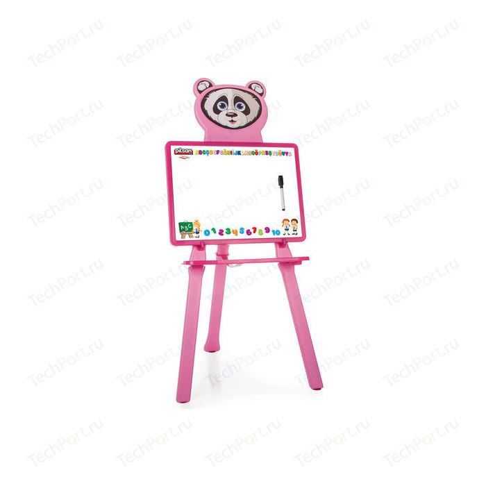 Доска для рисования Pilsan Panda цвет розовый (03-418)