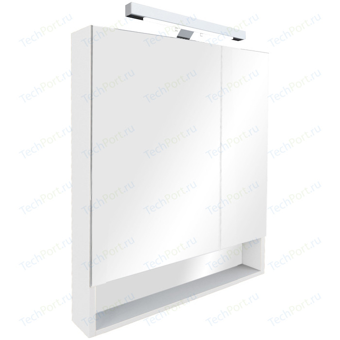 Зеркальный шкаф Roca Gap 80 белый (ZRU9302750)