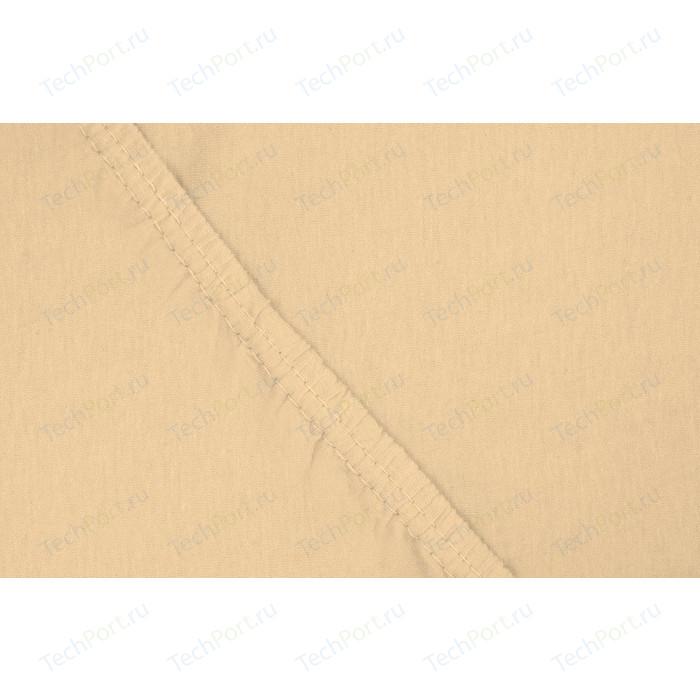 Простыня Ecotex трикотаж на резинке 140x200x20 см (4670016951847)
