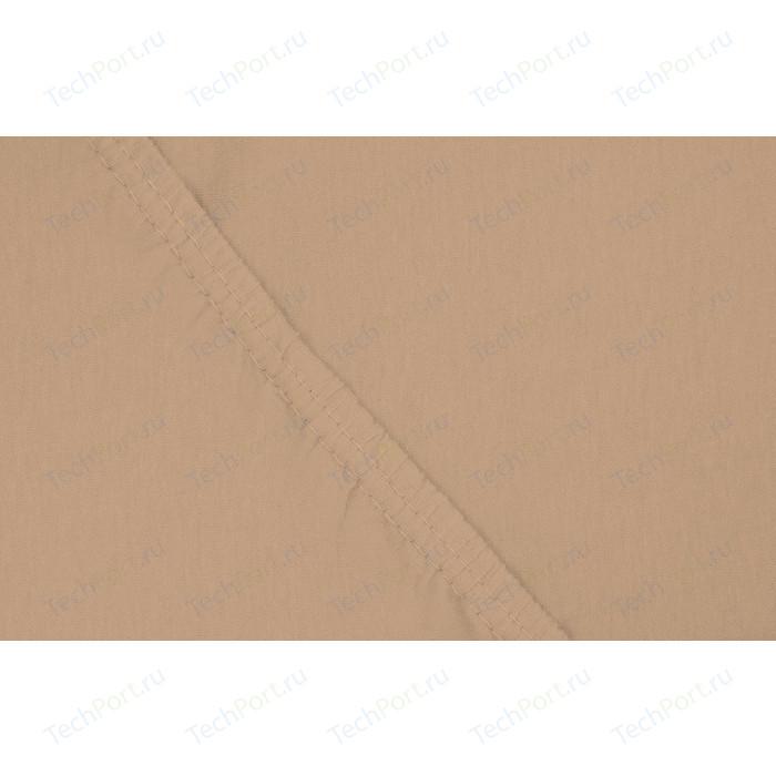Простыня Ecotex трикотаж на резинке 160x200x20 см (4670016951809)