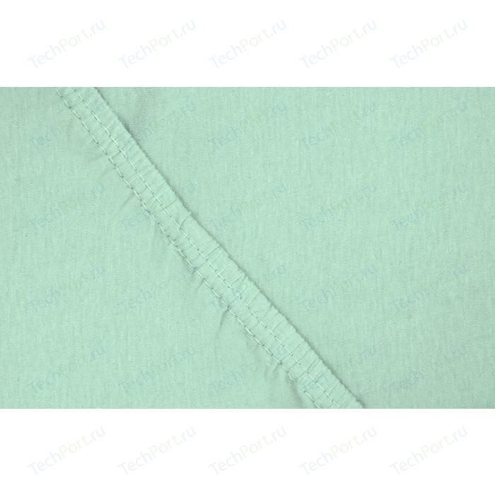 Простыня Ecotex трикотаж на резинке 160x200x20 см (4670016952059)
