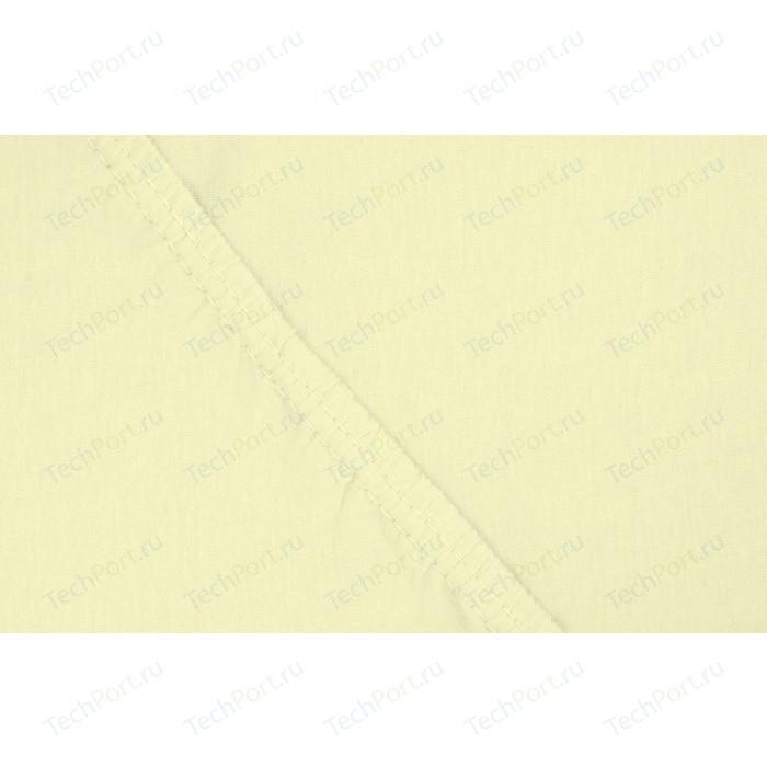 Простыня Ecotex трикотаж на резинке 160x200x20 см (4670016951908)