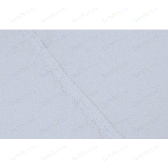 Простыня Ecotex Поплин-Комфорт на резинке 160x200x20 см (4607132579938)