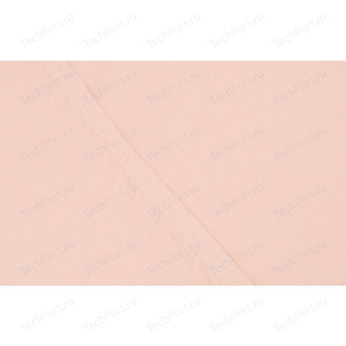Простыня Ecotex Поплин-Комфорт на резинке 160x200x20 см (4607132578405)