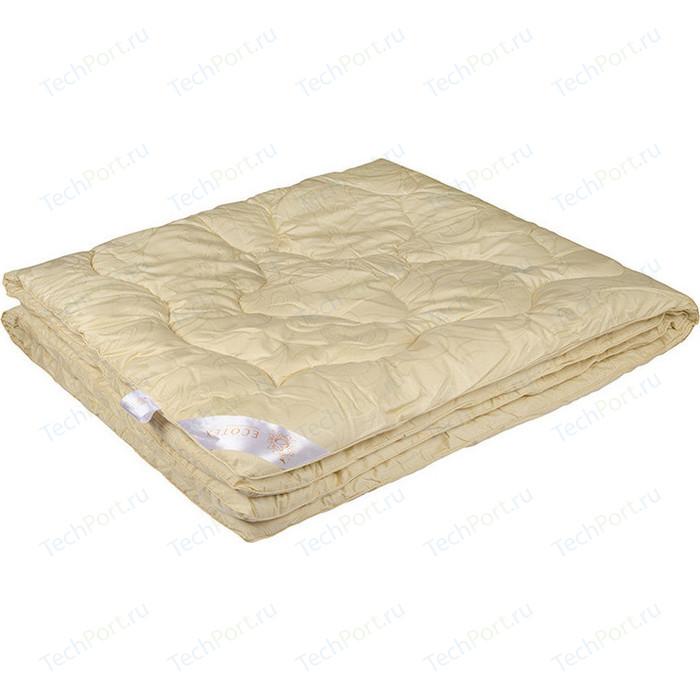 Полутороспальное одеяло Ecotex 140х205см Меринос (4607132577149)