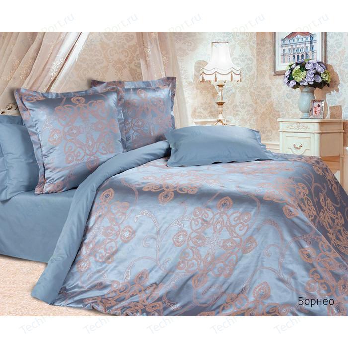 Комплект постельного белья Ecotex Семейный, сатин-жаккард, Борнео (4670016956408)
