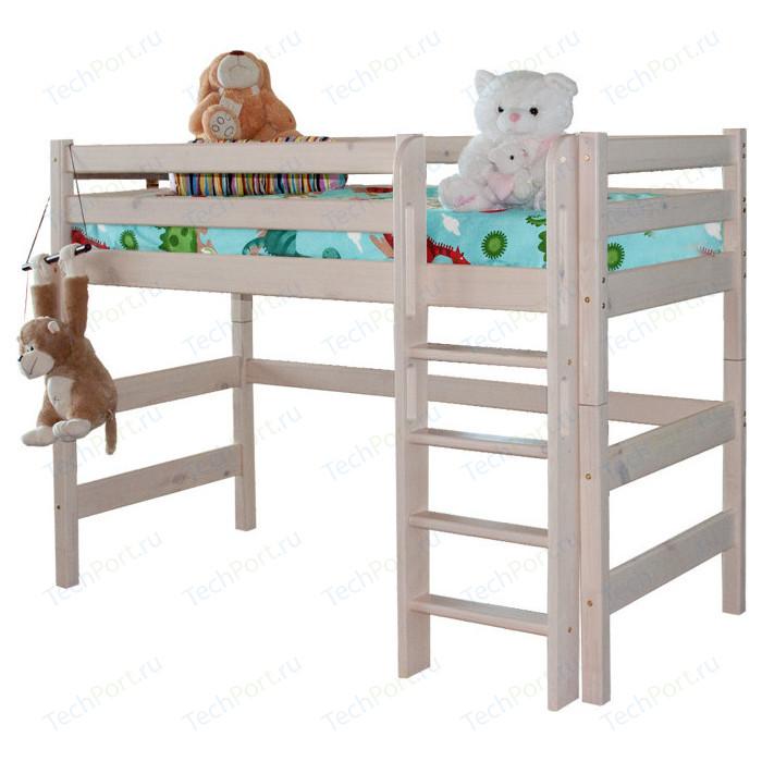 Детская кровать Мебельград Соня с прямой лестницей вариант 5