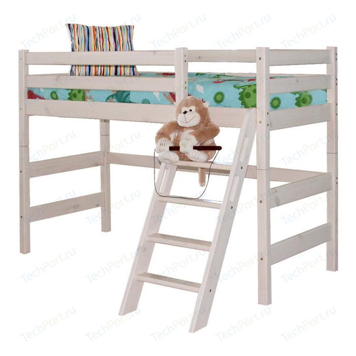 Детская кровать Мебельград Соня с наклонной лестницей вариант 6