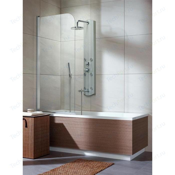 Шторка на ванну Radaway EOS PNJ 70/L прозрачное, хром, левая (205101-101L)