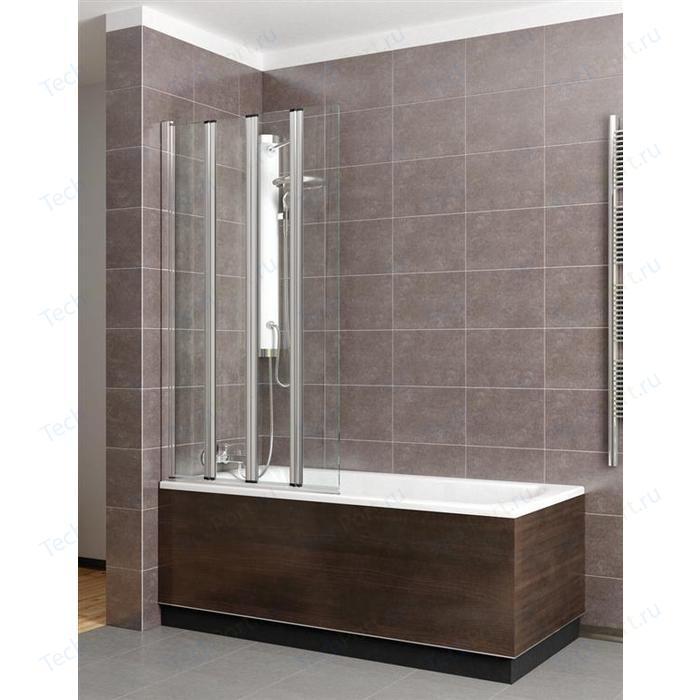 Шторка на ванну Radaway EOS PNW4 86 прозрачное, хром (205401-101)