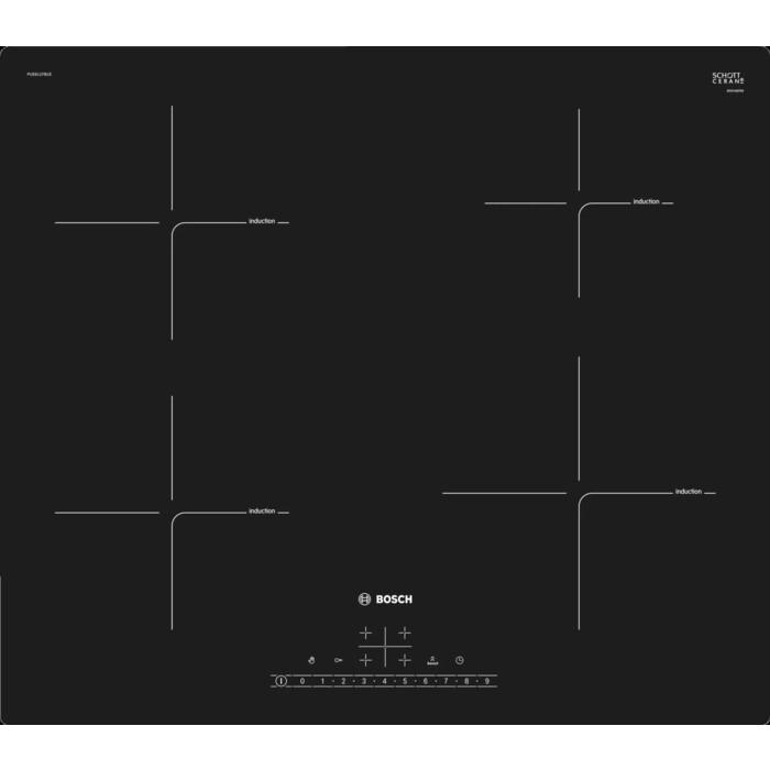 Индукционная варочная панель Bosch Serie 6 PUE611FB1E