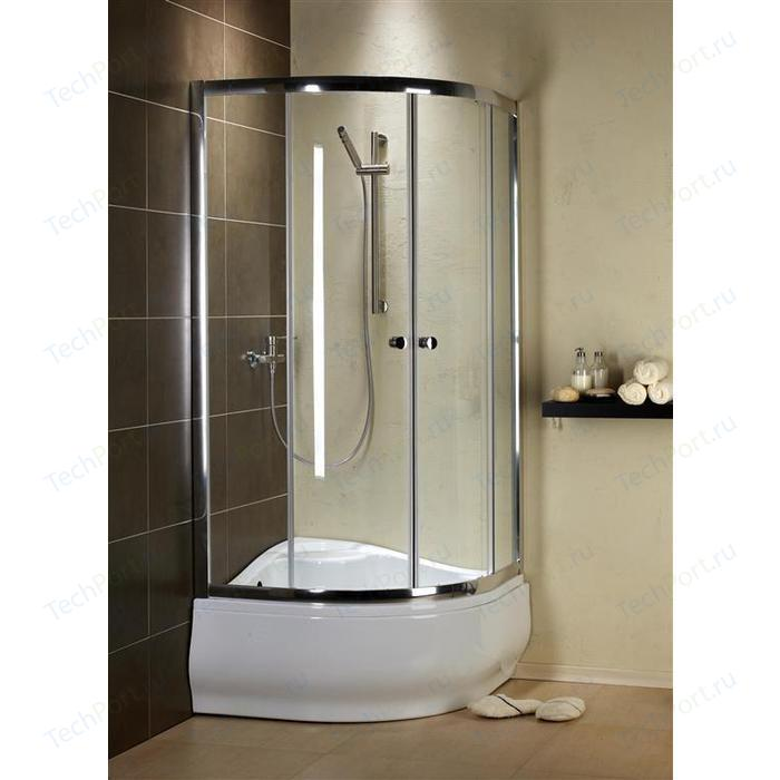 Душевой уголок Radaway Premium Plus A 170, 90x90 (30401-01-01N) стекло прозрачное