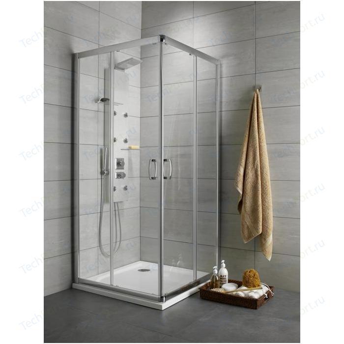 Душевой уголок Radaway Premium Plus D, 100x80 (30434-01-01N) стекло прозрачное