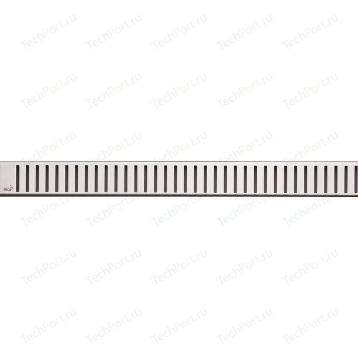 Решетка AlcaPlast Pure нержавеющая сталь глянцевая (PURE-300L)