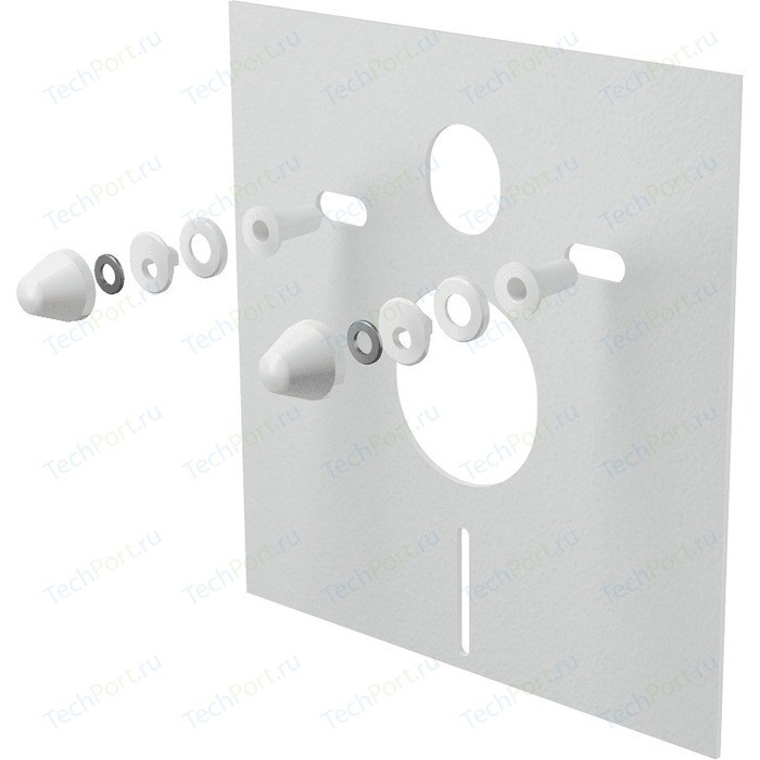Звукоизоляционная плита AlcaPlast для подвесного унитаза и для биде (M930)