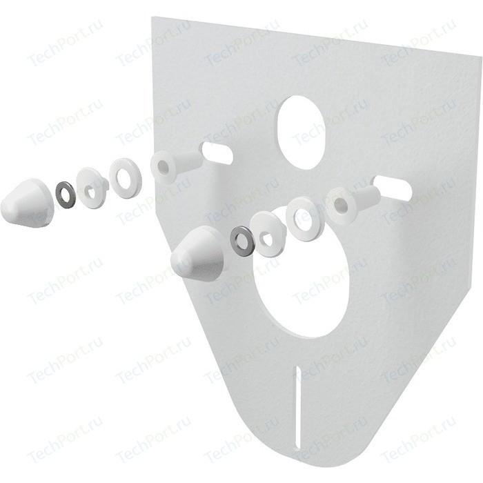 Звукоизоляционная плита AlcaPlast для подвесного унитаза и для биде (M910)