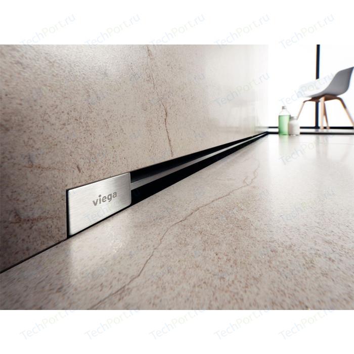 Дизайн-решетка Viega Advantix Vario для душевого лотка в стену 30-120 см, хром глянцевый (736576)
