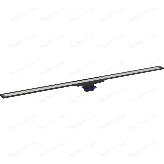 Душевая решетка Geberit CleanLine 20 для лотка, 30-90 см, черная/нержавеющая сталь (154.450.00.1)