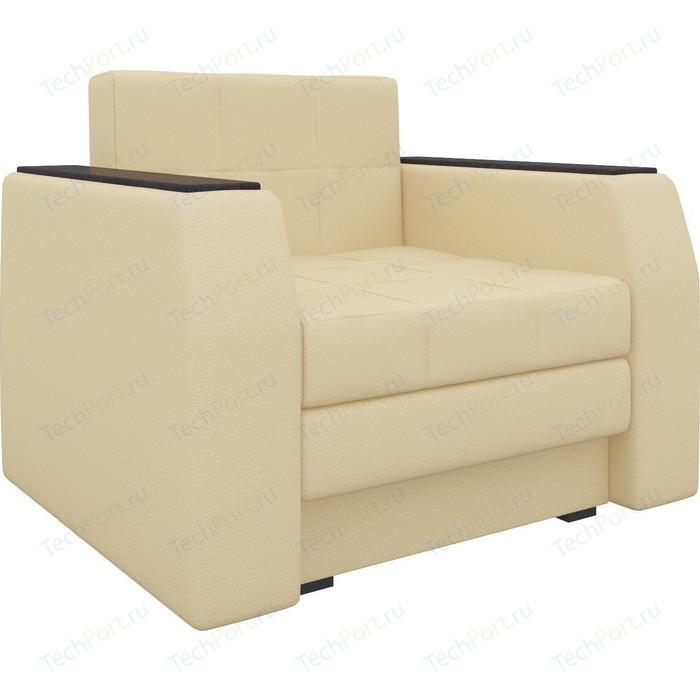Кресло-кровать Мебелико Атлант эко-кожа бежевый