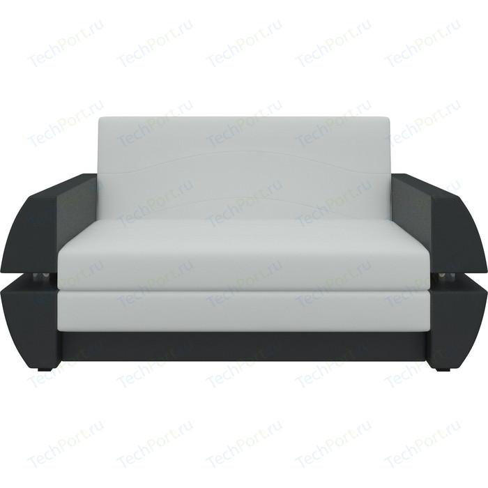 Фото - Диван АртМебель Атлант мини Т эко-кожа бело-черный диван еврокнижка артмебель атлант т эко кожа бело черный
