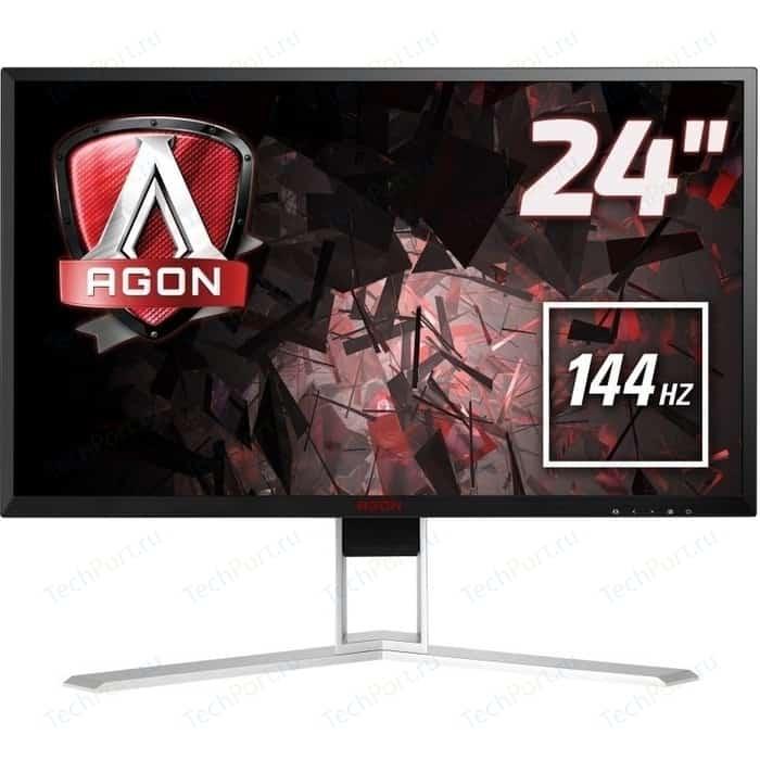 Монитор AOC AGON AG241QX монитор aoc agon ag273qcx 27 черный
