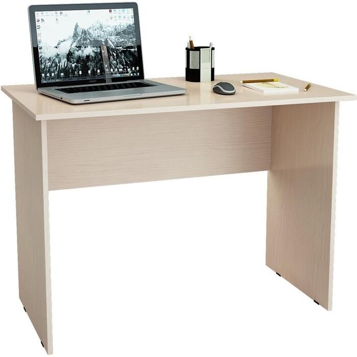 Стол письменный Мастер Милан-5 (дуб молочный) МСТ-СДМ-05-ДМ-16