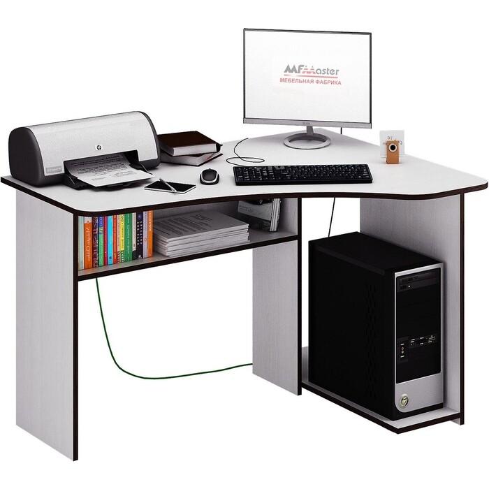 Фото - Стол Мастер Триан-1 правый (белый) МСТ-УСТ-01-БТ-16-ПР стол компьютерный триан 1