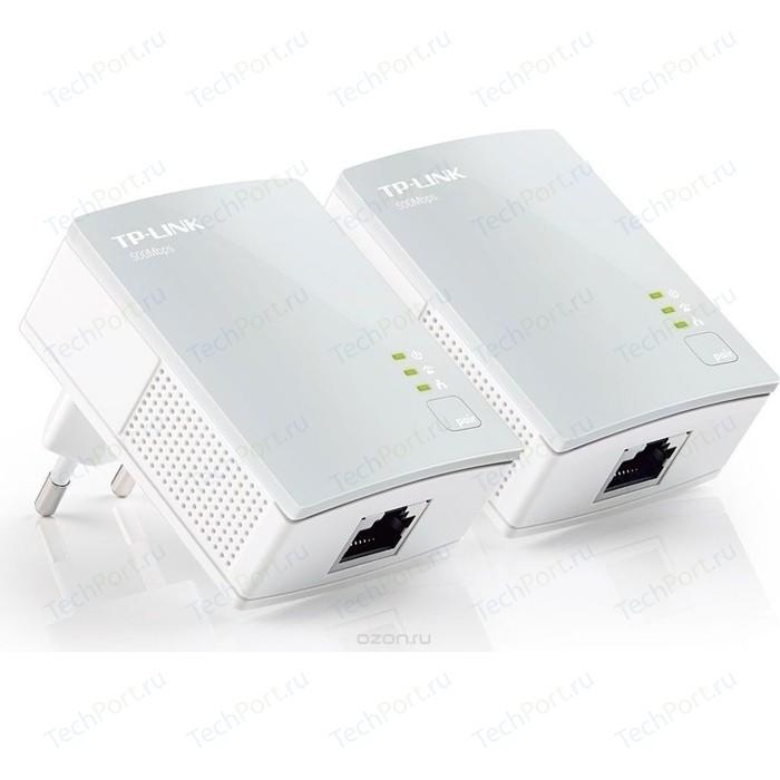 Сетевой адаптер TP-LINK TL-PA4010KIT сетевой адаптер powerline tp link tl pa7010pkit ethernet