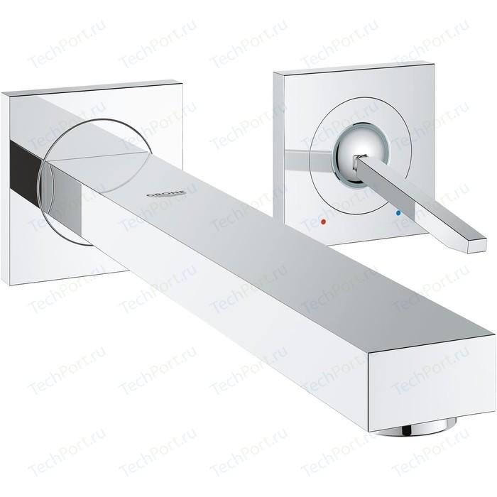Смеситель для раковины Grohe Eurocube Joy с механизмом (19998000, 23429000)