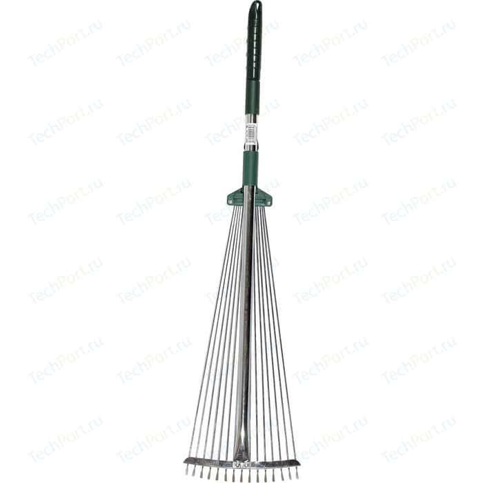 Грабли веерные Raco 15 круглых зубцов, 175-550мм (4231-53/744)