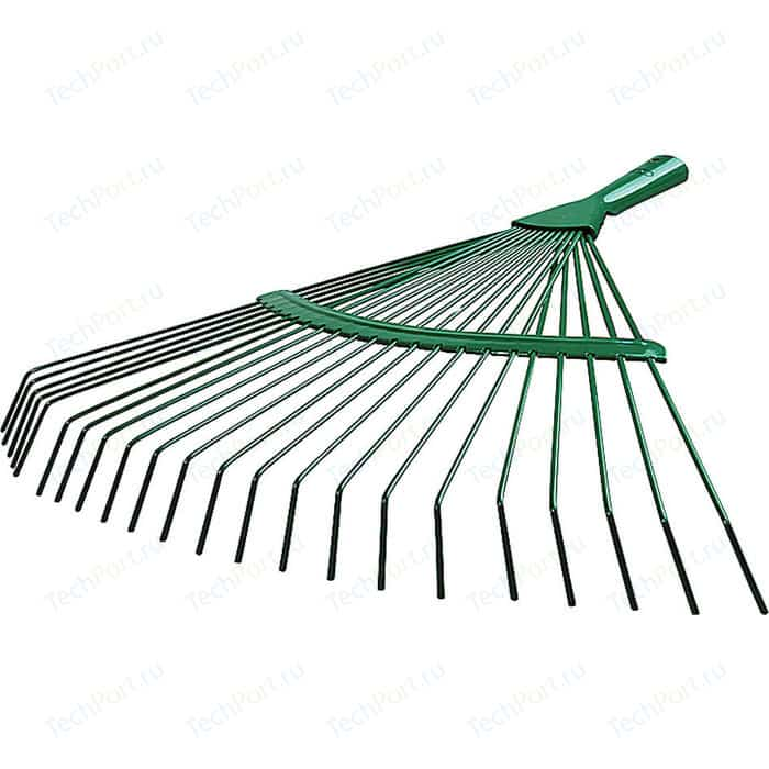 Грабли веерные Raco 22 круглых зубца, 450мм (4231-53/737)