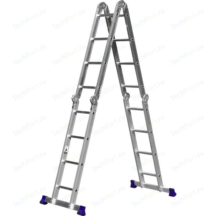Лестница-трансформер Сибин 4х4 (38852)