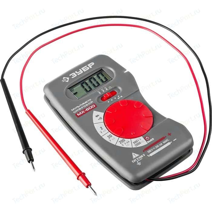 цена на Мультиметр цифровой Зубр МХ-600 Мастер (59800)