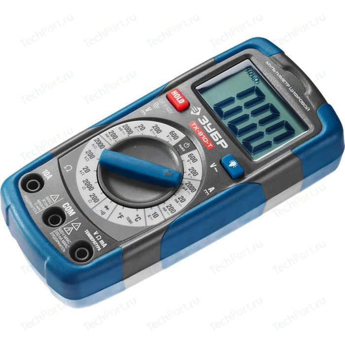 цена на Мультиметр цифровой Зубр ТХ-810-Т (59810)