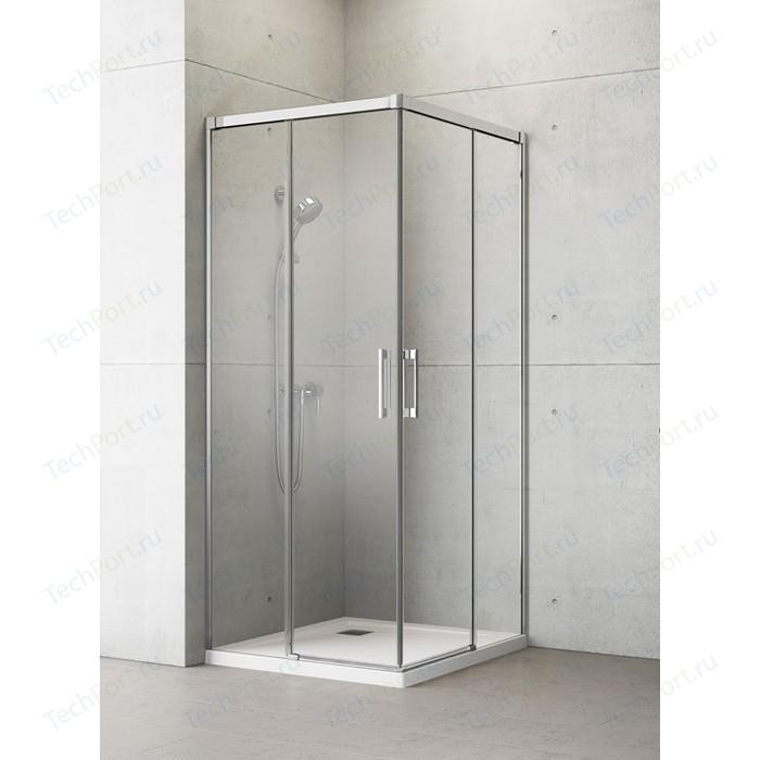 Душевая дверь Radaway Idea KDD/L 80 прозрачная, хром, левая (387061-01-01L)