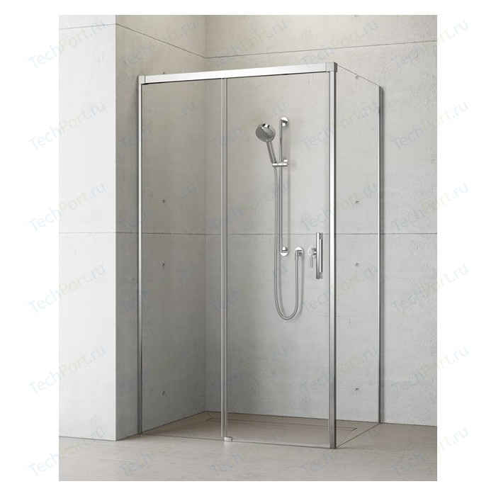 Душевая дверь Radaway Idea KDJ/L 140 прозрачная, хром, левая (387044-01-01L)