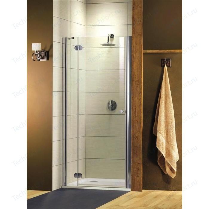 Душевая дверь Radaway Torrenta DWJ/L 90 прозрачная, хром, левая (31900-01-01N)