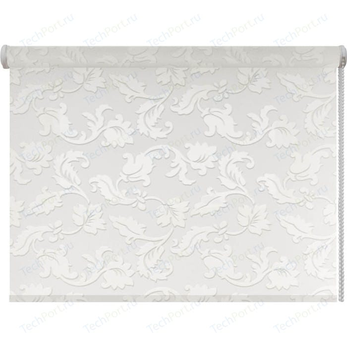 Рулонная штора DDA Жасмин (принт) Белый 120x170 см
