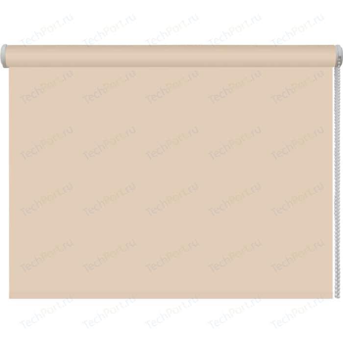 Рулонная штора DDA Ткань однотонная (80 процентов непроницаемая) Бежевый 37x160 см