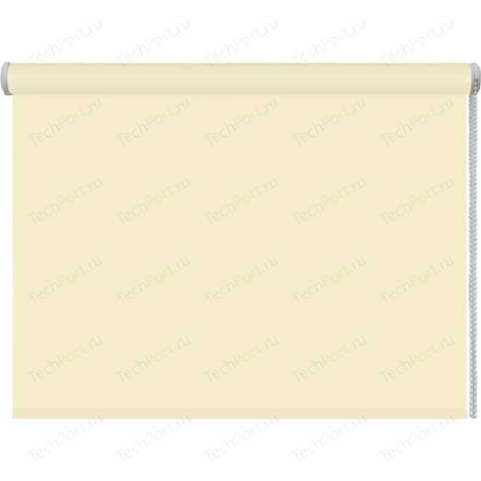 Рулонная штора DDA Ткань однотонная (80 процентов непроницаемая) Лимон 68x160 см