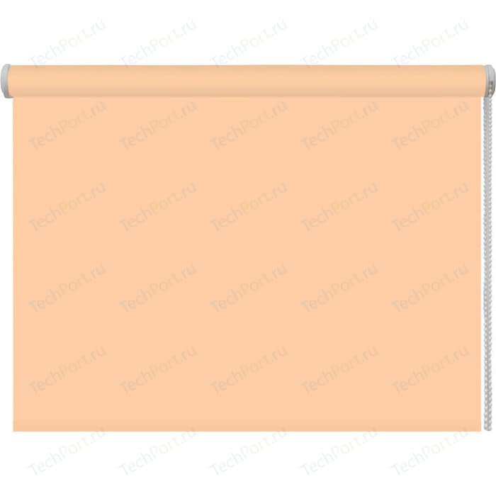 Рулонная штора DDA Ткань однотонная (80 процентов непроницаемая) Персиковый 210x170 см