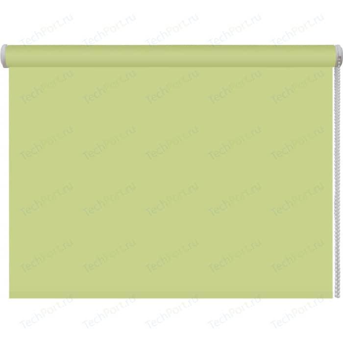 Рулонная штора DDA Ткань однотонная (80 процентов непроницаемая) Зеленый 68x160 см