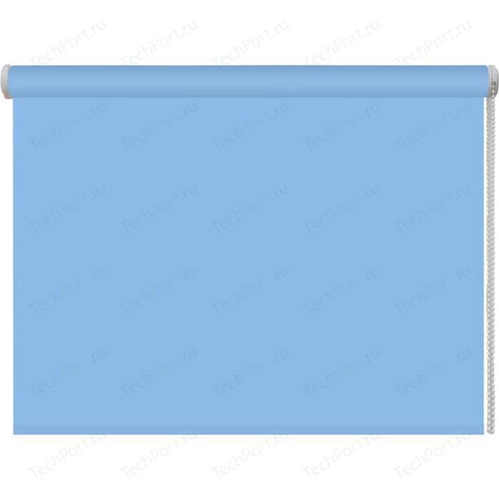 Рулонная штора DDA Ткань однотонная (80 процентов непроницаемая) Голубой 80x160 см