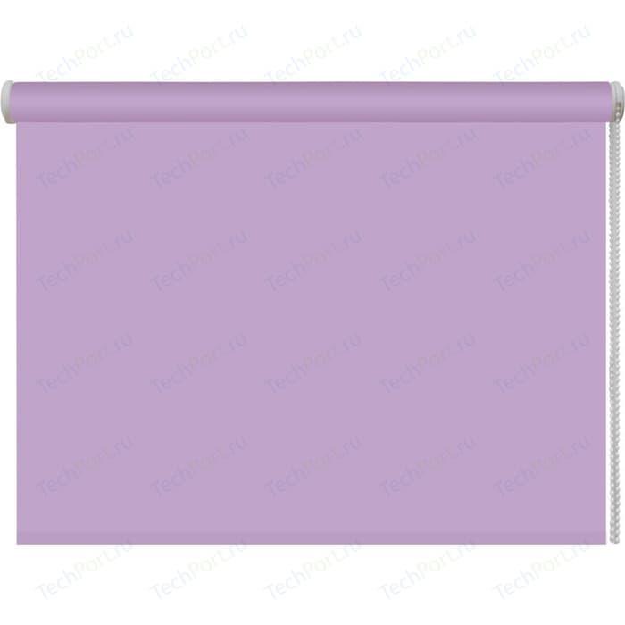 Рулонная штора DDA Ткань однотонная (80 процентов непроницаемая) Лиловый 160x160 см рулонная штора dda ткань однотонная 80 процентов непроницаемая лайм 160x160 см