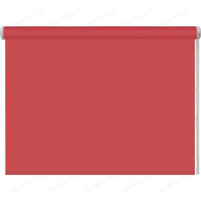 Рулонная штора DDA Ткань однотонная (80 процентов непроницаемая) Терракотовый 80x160 см