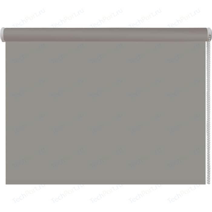 Рулонная штора DDA Ткань однотонная (80 процентов непроницаемая) Серый 80x160 см