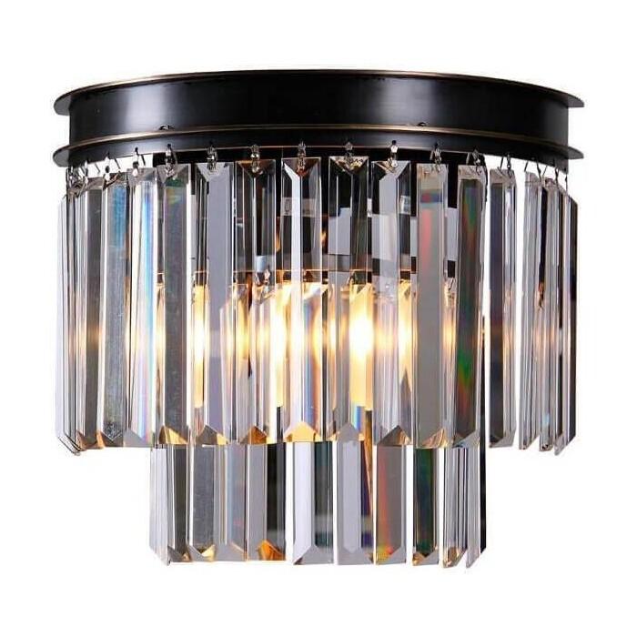 Настенный светильник Newport 31101/A black